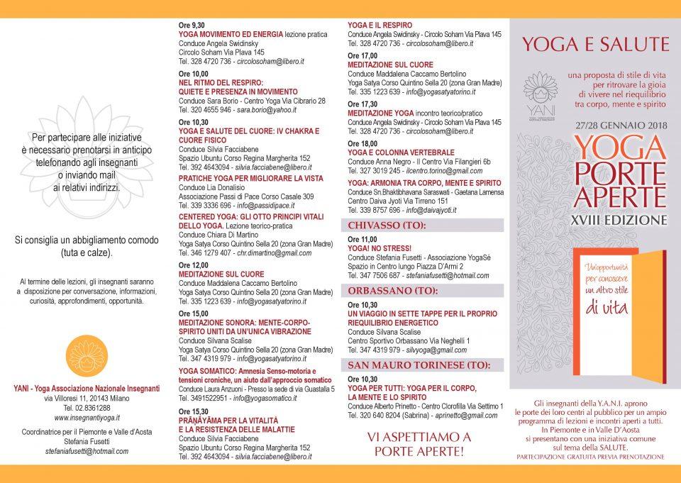 yoga porte aperte